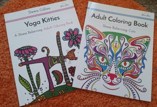 Pair of Cat Coloring Books