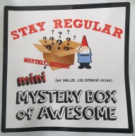 Mini Mystery Box of Awesome Sticker