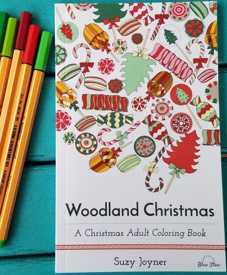 Woodland Christmas Adult Coloring Book