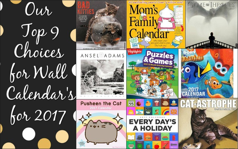 Calendars 2017 Our Choices