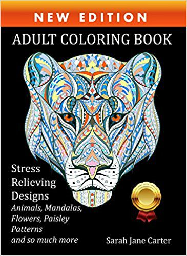 Deals Finders | Amazon : Adult Coloring Book : Stress Relieving ...