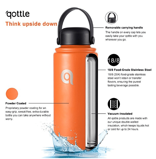 2018-06-14 11_54_33-Amazon.com _ qottle Vacuum Insulated Stainless Steel Water Bottle-Hydro Double W