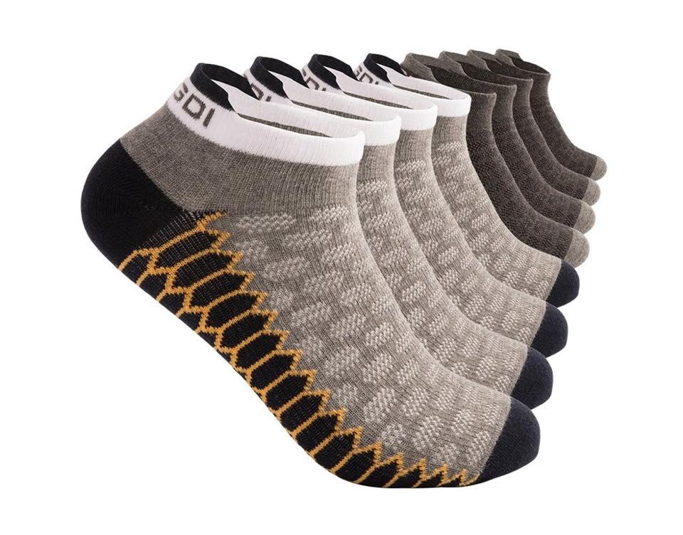 Antibacterial Tab Athletic Running Socks for Men and Women – pack of 2 ,4 pairs 1