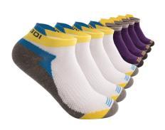 Antibacterial Tab Athletic Running Socks for Men and Women – pack of 2 ,4 pairs