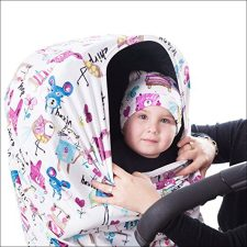 Breastfeeding Cover + Carrying Bag + Beanie Cap 4