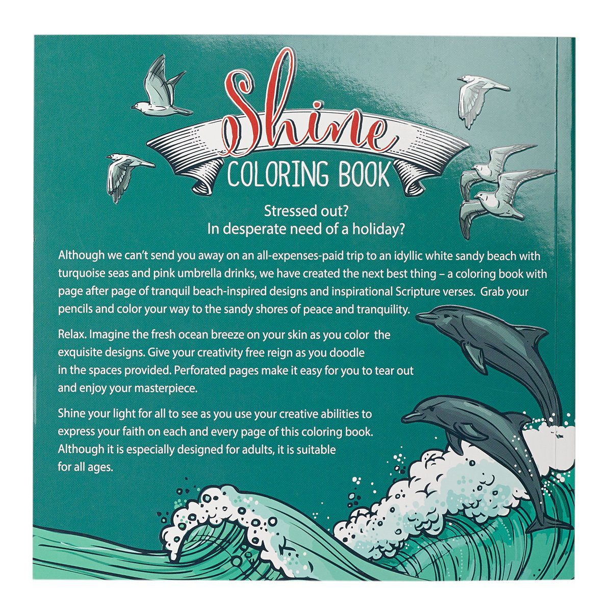 Color Your Life Beautiful Inspirational Adult Coloring Book Paperback 1