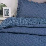 Flowers-Quilts-Dimaond-Stiching-Coverlet-Set 3
