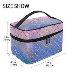 Travel Cosmetic Brush Bag Organizer Large for Girls Women 1