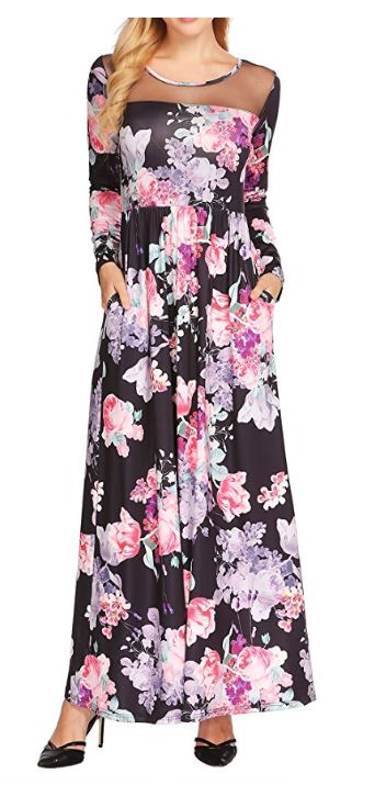 Women's-Boho-Floral-Long-Sleeve-Mes-Patchwork-Casual-Maxi-Dress-With-Pocket 5.JPG