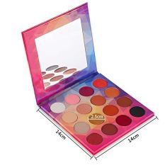 16 Colors Eye shadow Highly Pigmented Cream Makeup Palette with Mirror 2