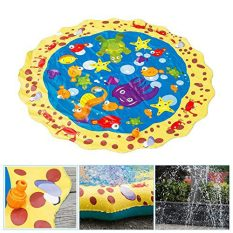39in-Diameter Sprinkle and Splash Play Mat (Colorful 1) 2