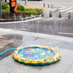 39in-Diameter Sprinkle and Splash Play Mat (Colorful 1) 4