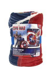 Civil War Plush Throw, 1