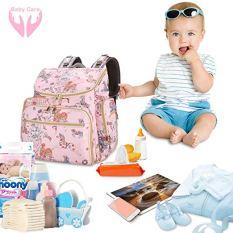 Pink Diaper Bag 1