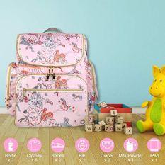 Pink Diaper Bag 3