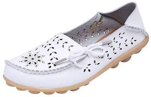 Women's Casual Hollow Out Loafer Flat Shoes amazon 2