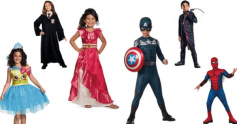 Amazone enfants costumes de Halloween de moins de 10 princesses marvel ninjas docteurs plus
