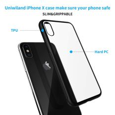 2 in 1 Compatible with iPhone X Protection Set 1