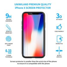 2 in 1 Compatible with iPhone X Protection Set 3