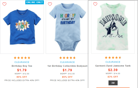 Baby Boy 2018 09 19 11 24 48 Clothes Clearance Sale Carters