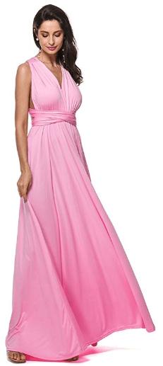2018-09-20 22_16_01-GAMISS Women Wrap Multi Way Party Long Maxi Dress Halter Evening Wedding Dress a