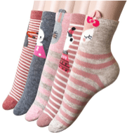 5 Pack Women Animal socks 2