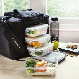 5-Pack,36oz] Glass Meal Prep Containers Glass 1