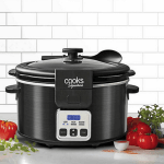Cooks Signature Black Stainless Steel 6-Quart