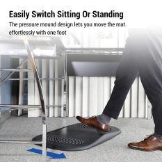 Ergonomic PU Office Standing Desk Mat and Kitchen Not-Flat Anti-Fatigue Comfort Floor Mat 1