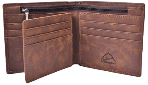 Mens Leather Bifold Wallet 2