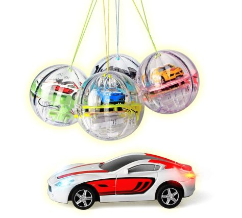 2.4G Mini Remote Control RC Car in Crystal Bal