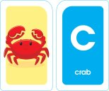 School Zone - Alphabet Flash Cards - Ages 3+, PreK, Letter-Picture Recognition, Word-Picture Recognition, Alphabet, and More Cards 4