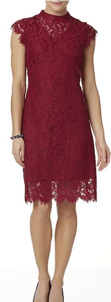 Sear's lace dress 1