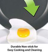 T-fal Saute Pan with Lid, Nonstick Pan, 5 Quart, Black 1
