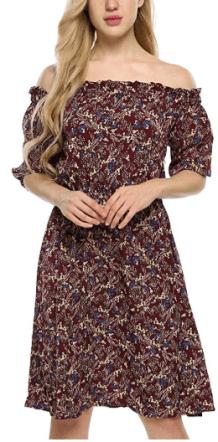 Vintage floral Dress 4