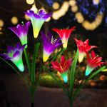 Amazon: 65% Off Outdoor Flower Solar Garden Stake Lights