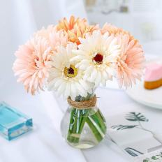 6 pcs Artificial Daisy Bridal Flowers Bouquet 3