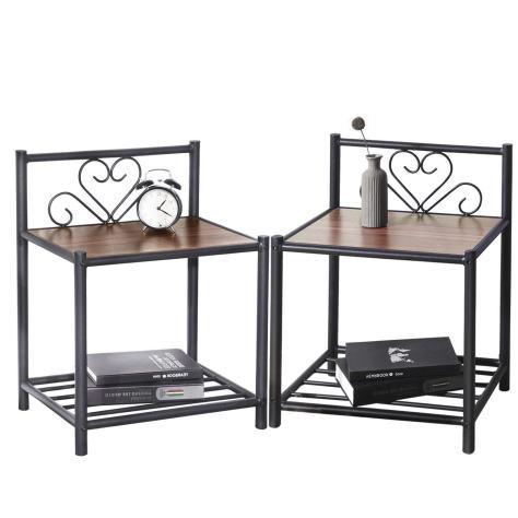 Bedside Table Set of 2