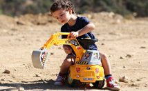 Construction Ride-On Toy