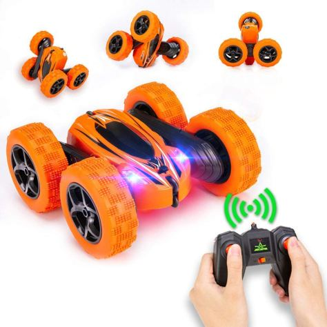 Electric Race Double Sided Car Tank Vehicle 360 Degree Spins