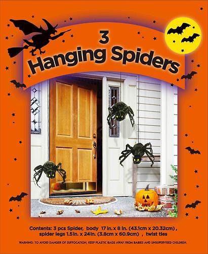 Deals Finders | Menards: Free AR 3-Pack Hanging Spiders