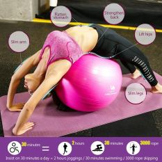 Thick Exercise Ball with Quick Pump 1