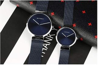Wrist Watch with Mesh Milanese Bracelet 2