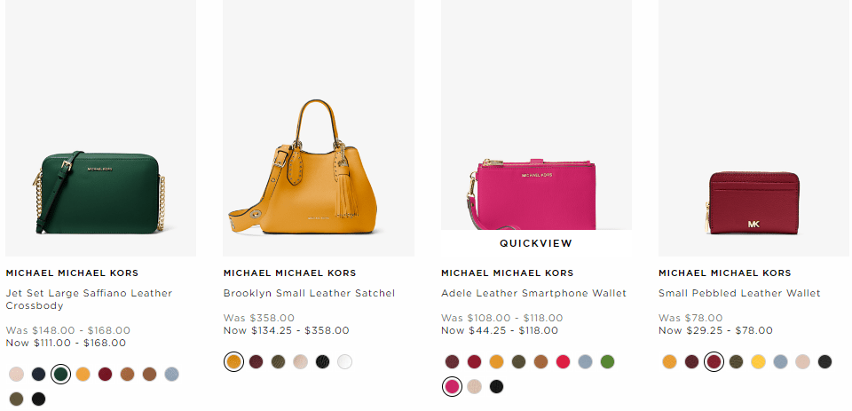 Michael Kors : Up To 50% Off Marigold Handbags + Free Shipping!!