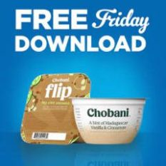 FREE Chobani Flip or Hint of Flavor Greek Yogurt at Kroger