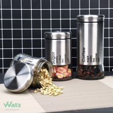 Food Storage Canister (Set of 3) with Airtight Lid 2