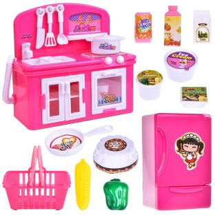 Kitchen Appliance Toys for Girls, Play Kitchen Accessories for Toddlers and Kids 3