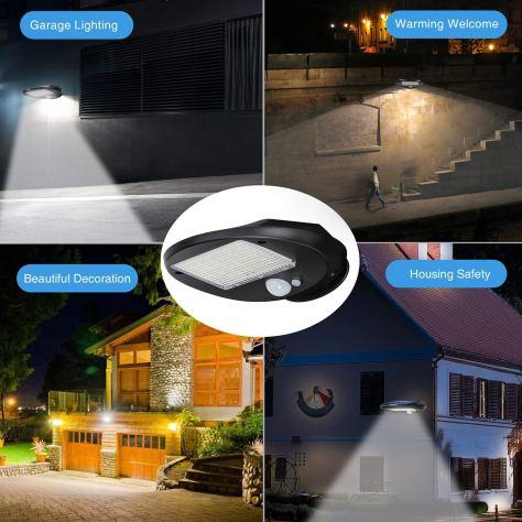 Solar Motion Sensor Lights 1