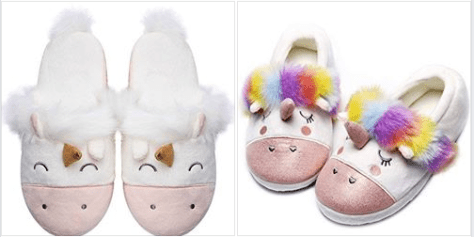 Unicorn Animal Slippers