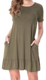 Womens Casual Tunic Dresses 3